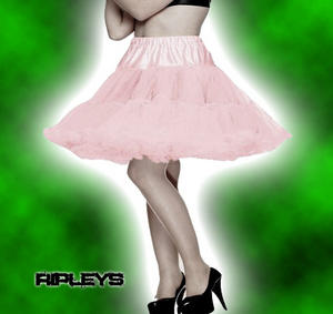 HELL BUNNY 50s Skirt DOLLY PINK PETTICOAT 20&quot;  Preview